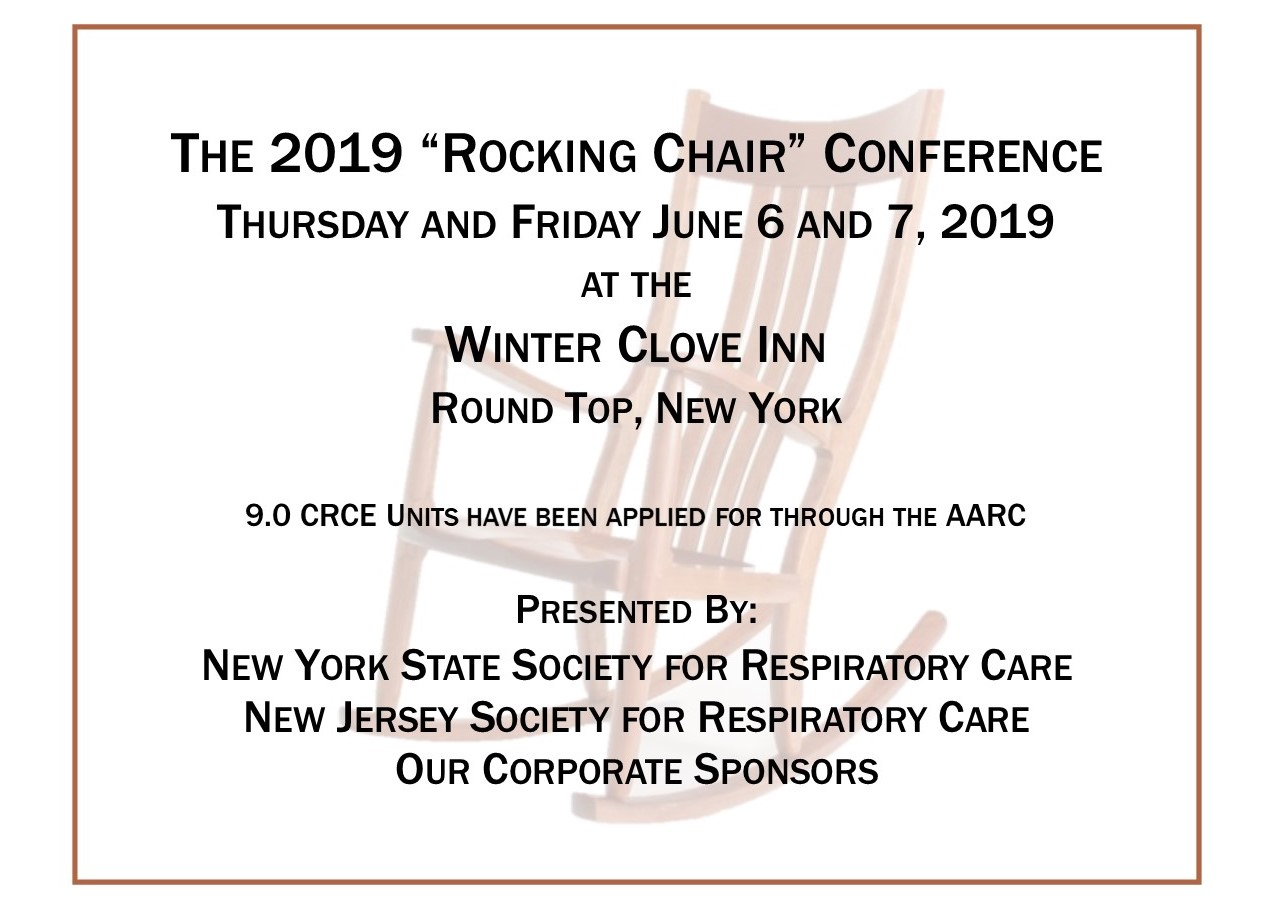Rocking Chair Conference 2019